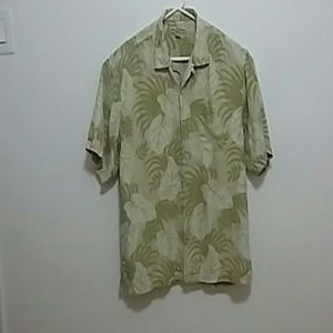 Tommy Bahama 100 per cent silk shirt